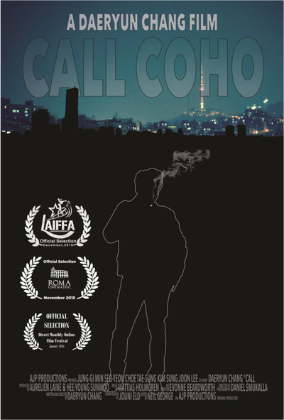 Call coho poster with laurels