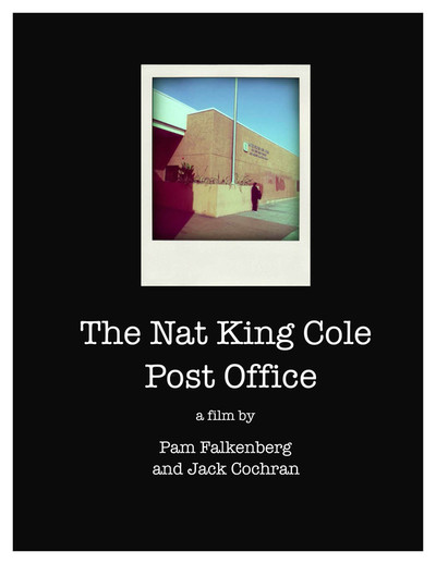 Nat king cole post office poster