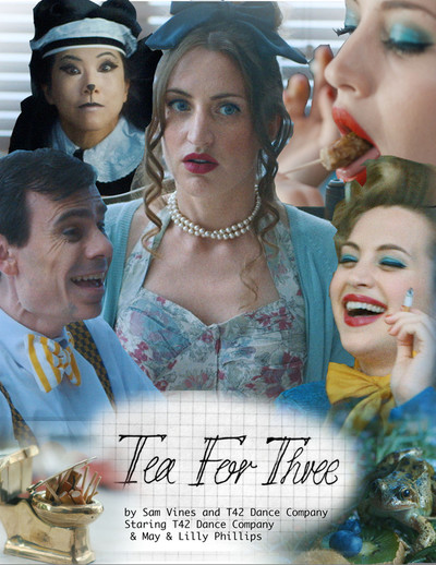 Tea for three poster