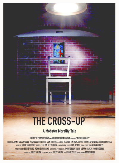 The cross up poster