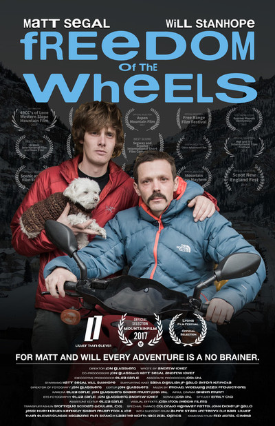Freedom of the wheels movie poster 2017