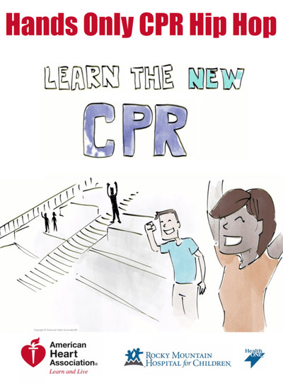 Hands only cpr poster min