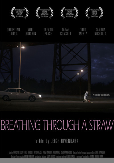 Breathing through a straw   poster