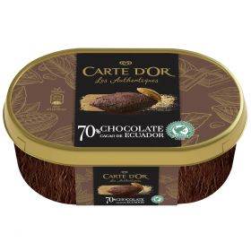 CARTE D'OR HELADO DE CHOCOLATE DE ECUADOR 750 ML