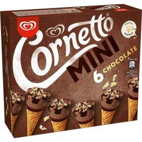 CORNETTO MINI CHOCOLATE 6 UN