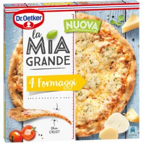 PIZZA LA MIA GRANDE 4 FORMATGES