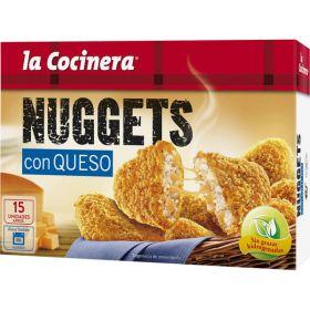NUGGETS DE POLLO CON QUESO