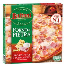 PIZZA BUITONI FORNO DI PIETRA JAMÓN Y QUESO