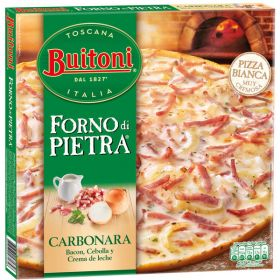 PIZZA BUITONI FORNO DI PIETRA CARBONARA