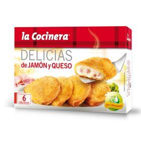 DELICIAS DE JAMÓN Y QUESO