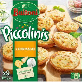 PICCOLINIS BUITONI 3 FORMATGES