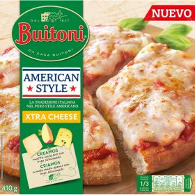 PIZZA BUITONI AMERICAN STYLE EXTRA DE FORMATGE