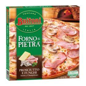 PIZZA BUITONI FORNO DI PIETRA JAMÓN Y CHAMPIÑONES