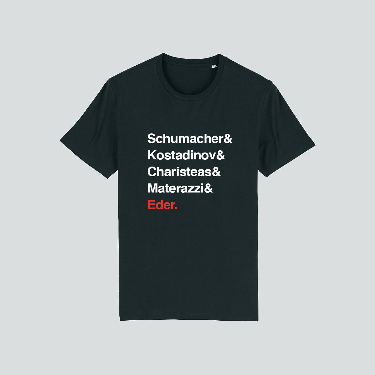 T-shirt noir FFL Légendes du football