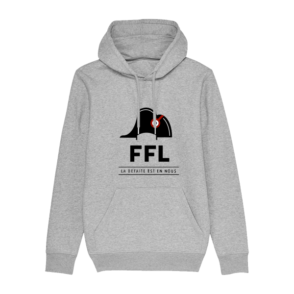 Hoodie gris FFL Officiel