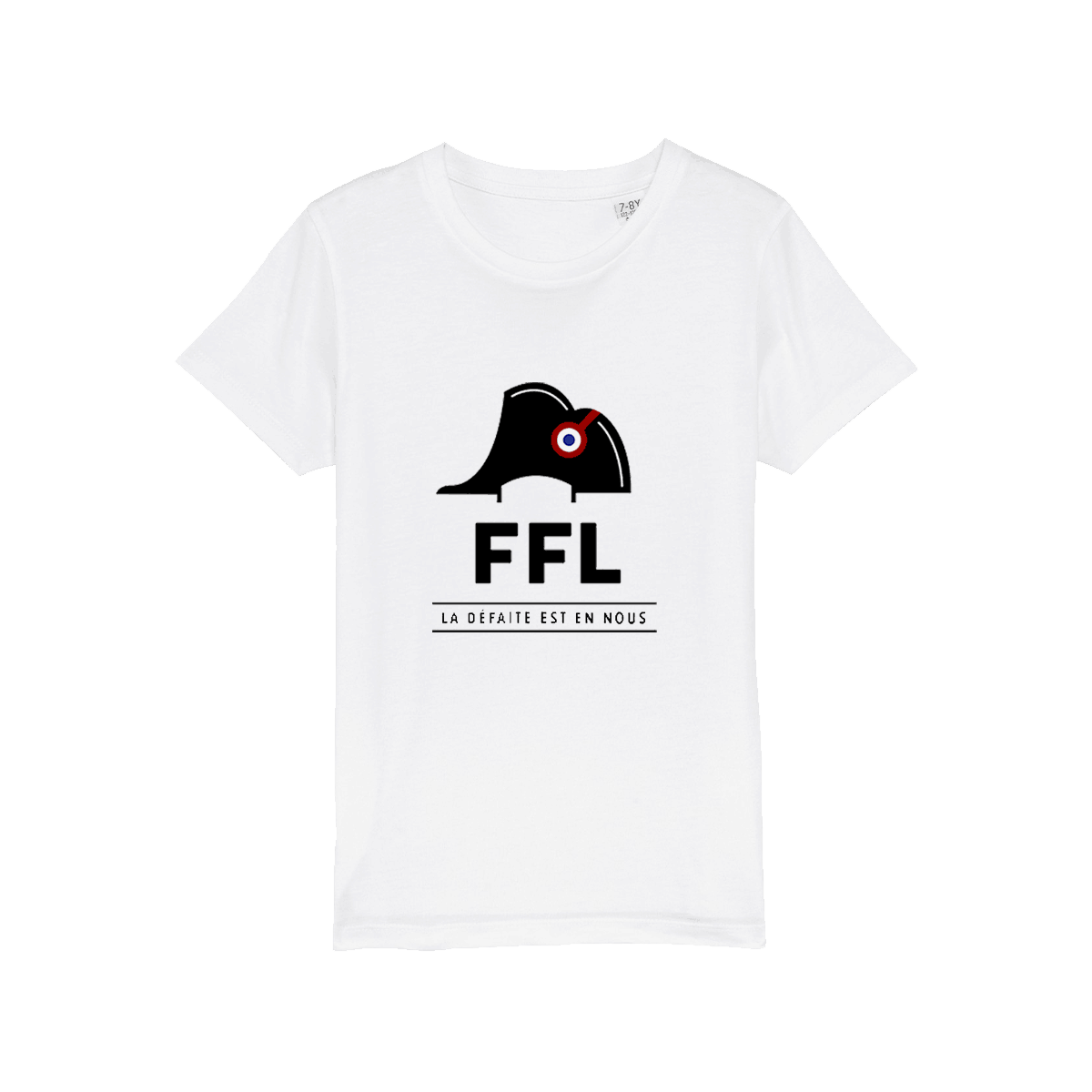 T-shirt blanc FFL Officiel