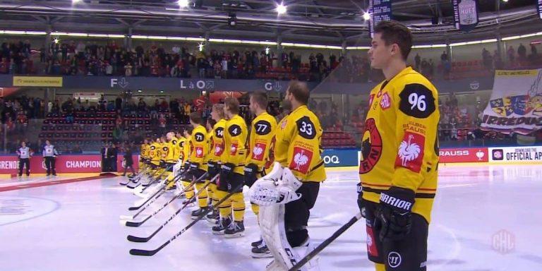 Grenoble raté hymne national hockey - FFL