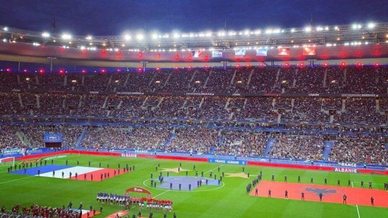 France albanie mauvais hymne - FFL
