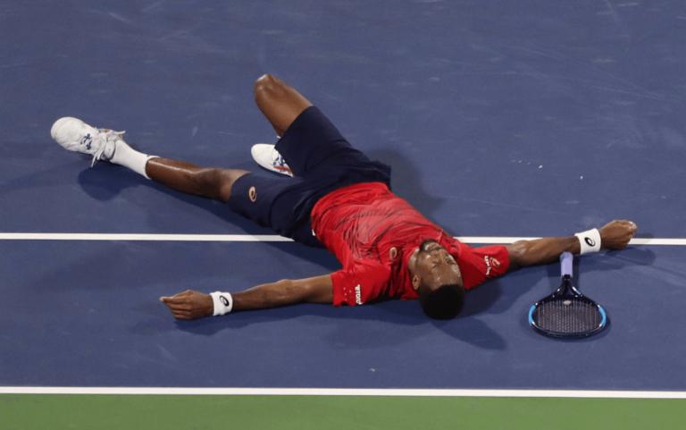 ATP Dubai Monfils Djokovic