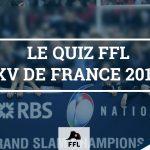 Quiz FFL - XV De France