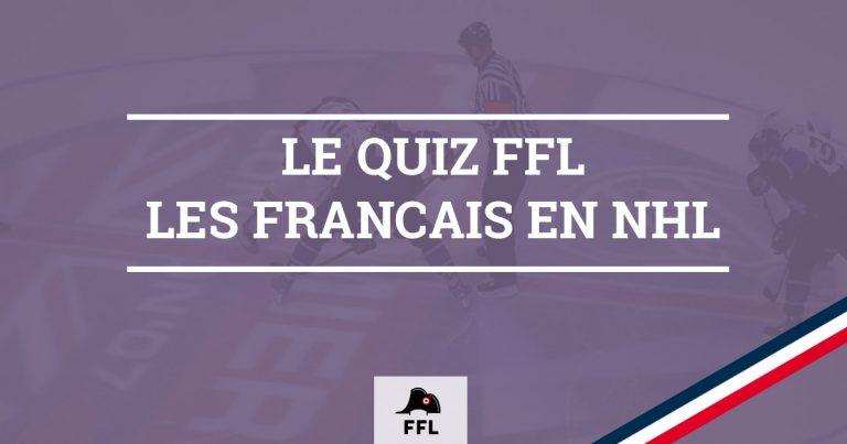 Quiz Français en NHL - FFL