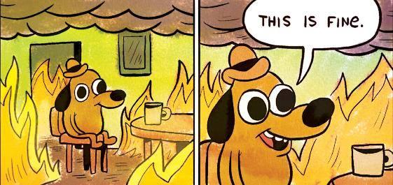 This is fine feu - FFL
