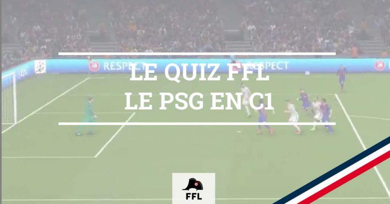Quizz PSG EN C1 - FFL