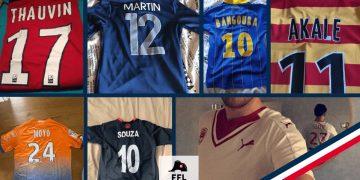 Pires flocages de maillot de football - FFL