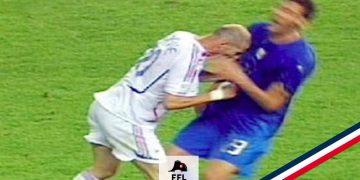 Coup de boule Zidane France 2006 - FFL