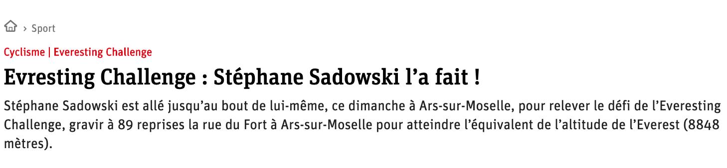 Stéphane Sadowski moselle