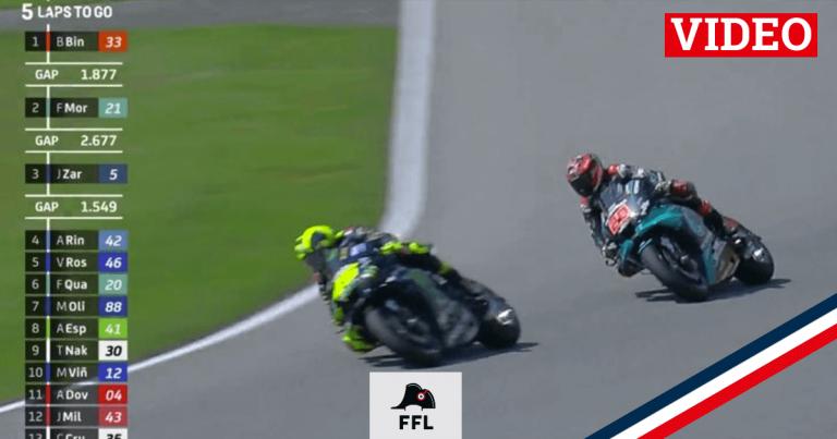 Czech GP Quartararo Rossi - FFL