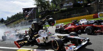 Grand Prix de Belgique 2012 - FFL - Romain Grosjean