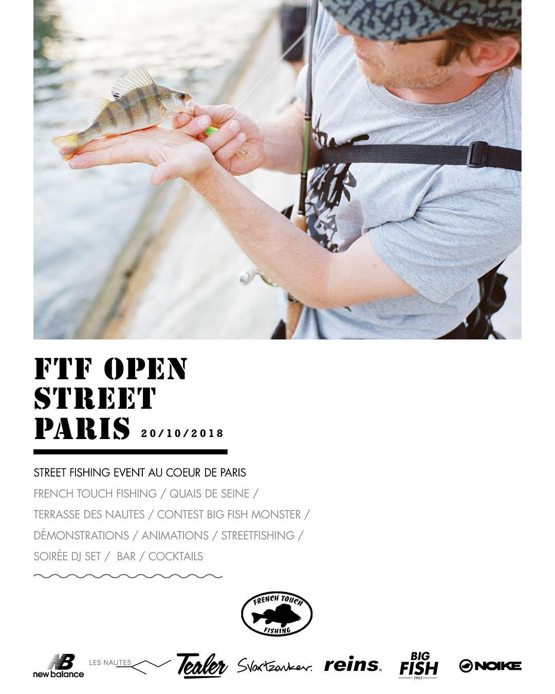 FTF Open Street Paris 2018