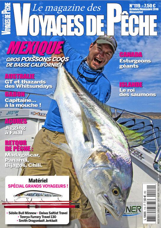 FishFriender dans Voyages de pêche n°119 - Octobre / Novembre 2016