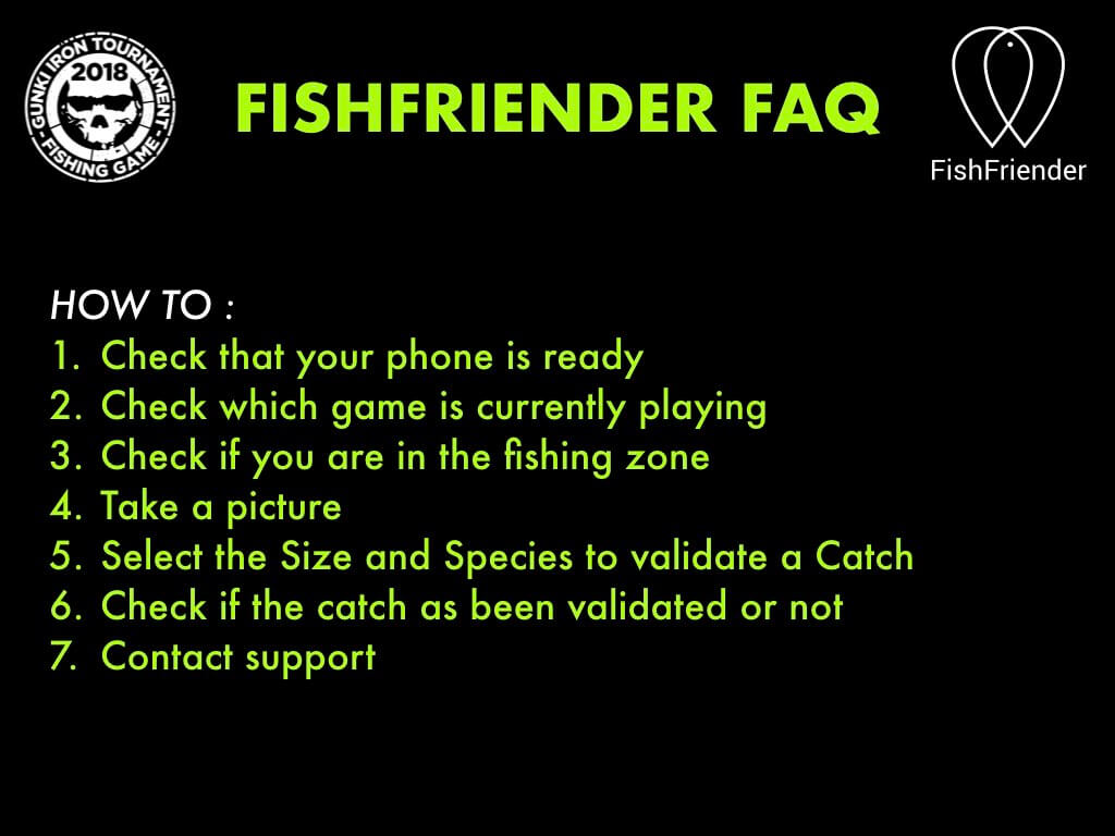 Application FAQ - read before joining us !