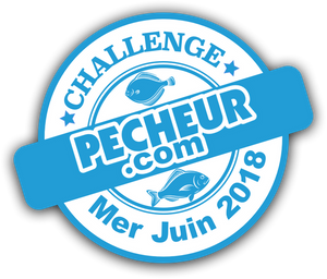 Catch is in the running for the challenge Mer - Juin 2018