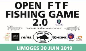 Open FTF Fishing game 2.0 de LIMOGES - 30 Juin 2019