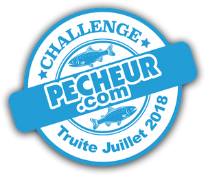Catch is in the running for the challenge Truites - Juillet 2018