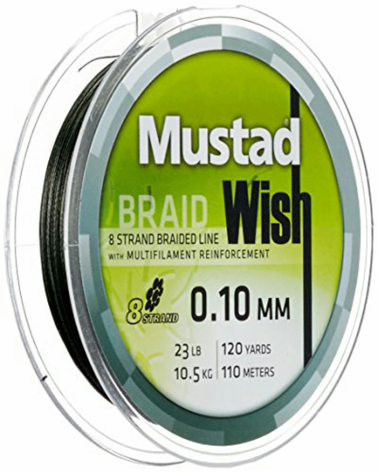 WISH 8 BRAID 0.15 GREEN