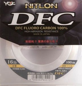YGK FLUOROCARBONE YGK NITLON DFC 30.5/100