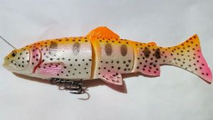 Savage Gear SG 3D LINE Thru Trout 02 Golden Abino Rainbow