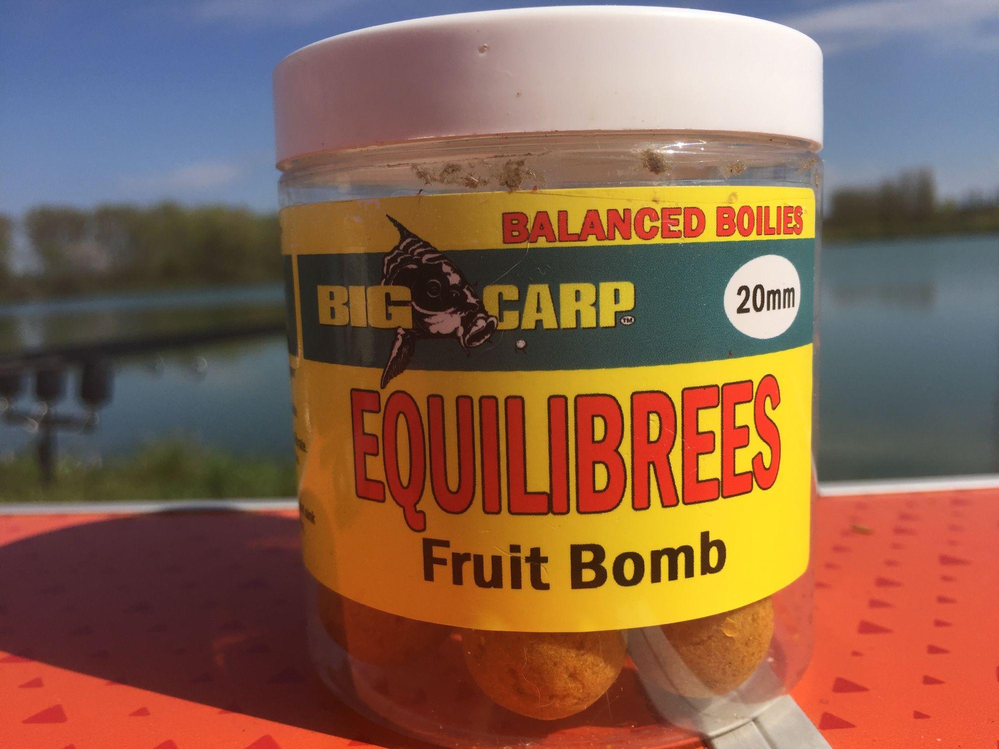 Big carp Fruit Bomb Equilibrée 20 Mm