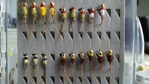 Flies null jig spectra
