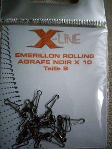 EMERILLON ROLLING TAILLE8
