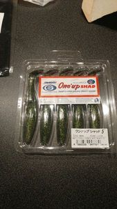 Sawamura one'up SHAD 5. COLOR  # 046