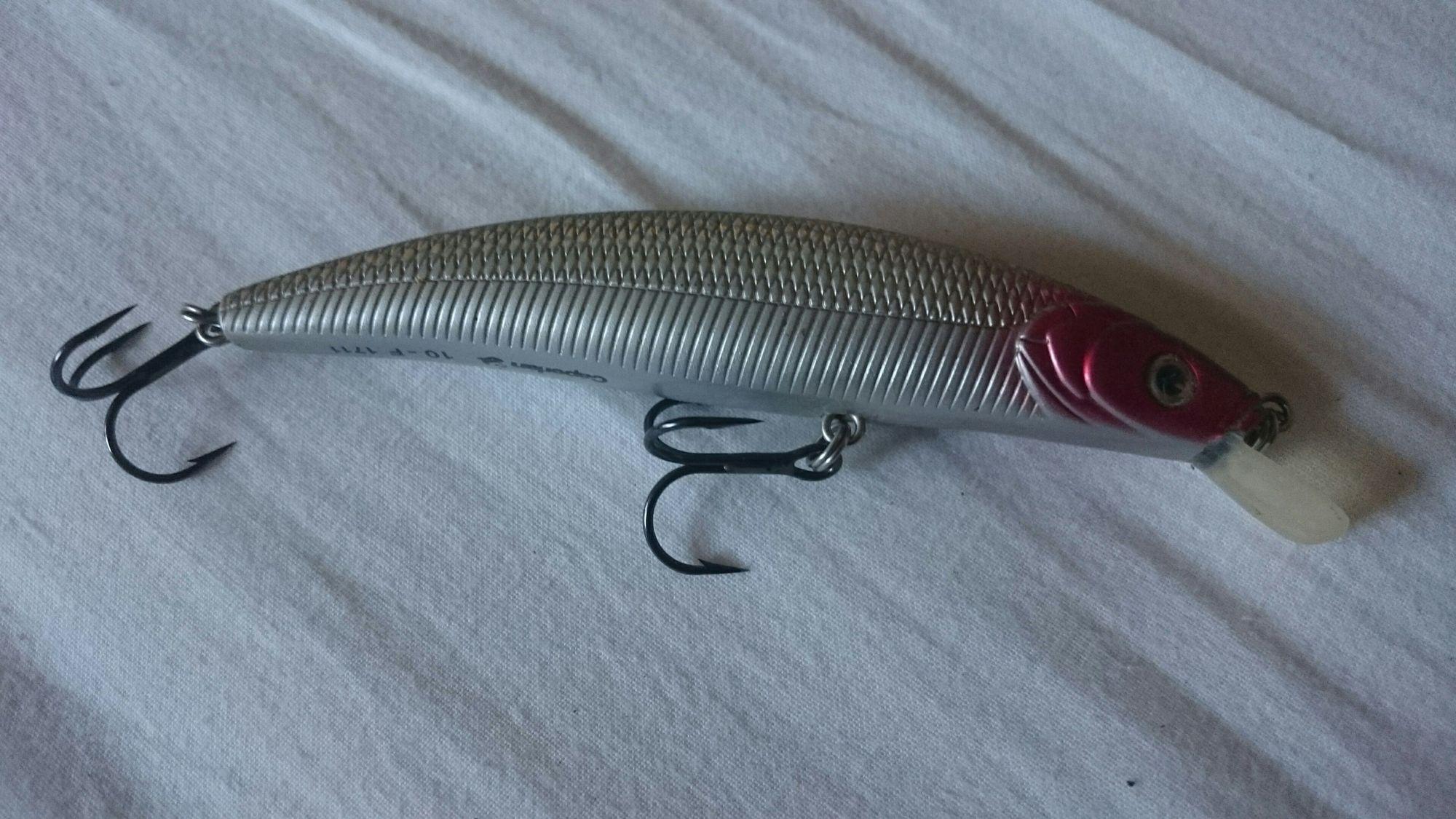 Caperlan jerkbait quizer 100 flottant 10cm
