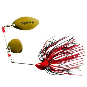 Caperlan Spinerbait rouge noir
