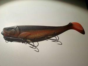 Illex Dexter Shad UV 200 Orange\Black