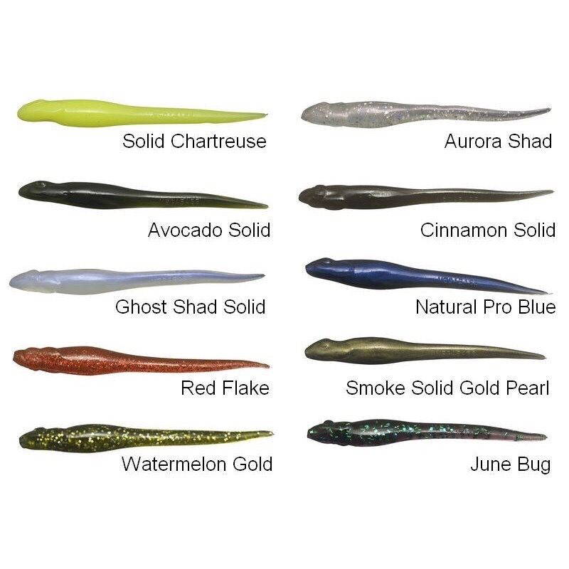 Megabass Hazedong 3.5inch Ghost Shad Solid