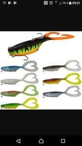 Lures Biwaa Fishing Performance Twin pike